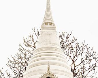 Thailand Photography - Chedi Spire - Bangkok - Fine Art Photography Print - Asian