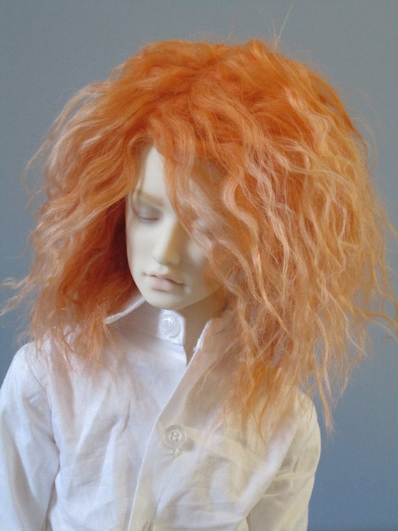 Bjd Wig Curly Mohair 41