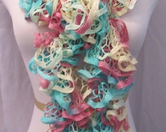 Scarf Spring and Summer Pastels