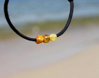 Baltic Amber Friendship Bracelet Natural Fashion Organic Men Jewelry Fossil Sunny Summer Jewelry Charm Bracelet