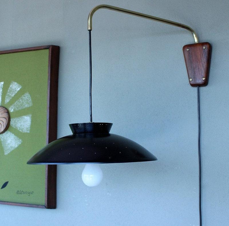 Retro Wall Mounted Light / Mid Century Modern Lighting