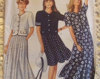 New Look Pattern no. 6008  size 8 to 18 For Ladies Skirt and Jacket