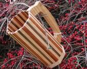 Red Oak, Oregon White Oak, Paduk, and Walnut Wooden Mug - 912