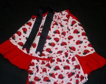 SALE Pillowcase Ruffle Pantie Set