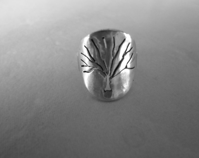 tree of life dime size solid back