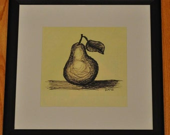 PEAR Framed Print -- FREE Shipping!