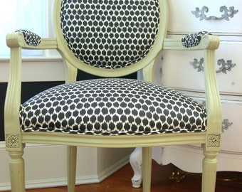 Customizable French Louis Chairs