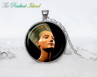 NEFERTITI PENDANT nefertiti jewelry Nefertiti necklace Gifts for Him  Jewelry  Fantasy Pendant Art Gifts for Her