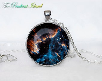 UNIVERSE  Pendant  Universe Necklace Galaxy necklace Space universe  Art Gifts for Her for men for him and hers