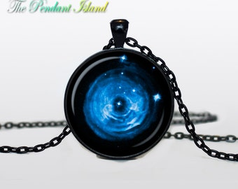UNIVERSE JEWELRY universe Pendant  constellation Monoceros Universe Necklace Galaxy necklace Space  Gifts for Her for men for him and hers