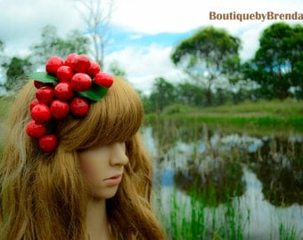 Red Cherries Headband