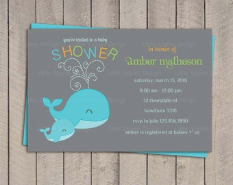 whale baby shower invitation baby shower wale invitation whale baby shower invite under