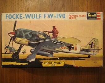 Revell Focke Wulf FW 190 Kit No H-615