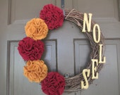 Custom Order for Samantha - Two FSU Wreaths (FSU/NOLES)