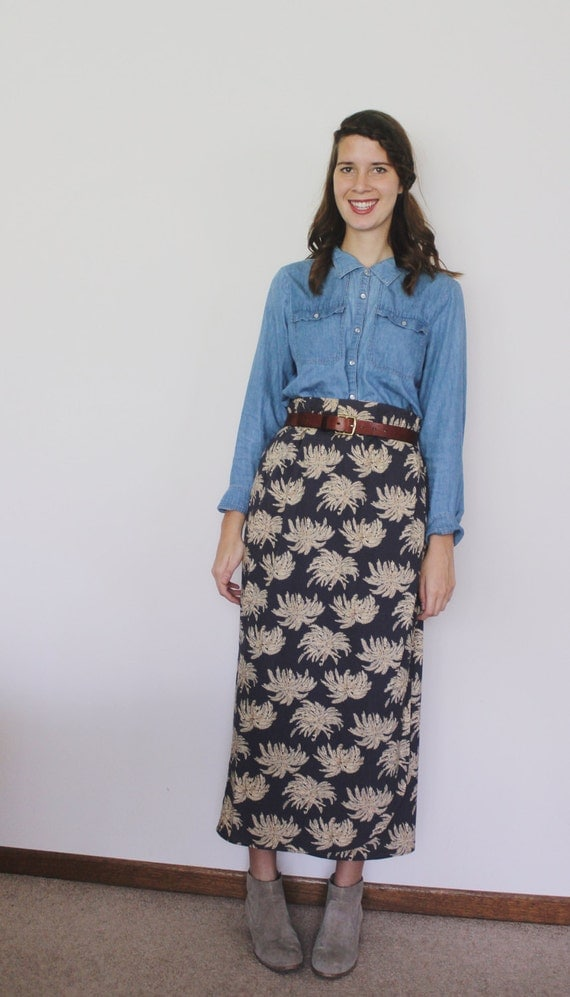 Vintage 1980's Oasis in the City Skirt