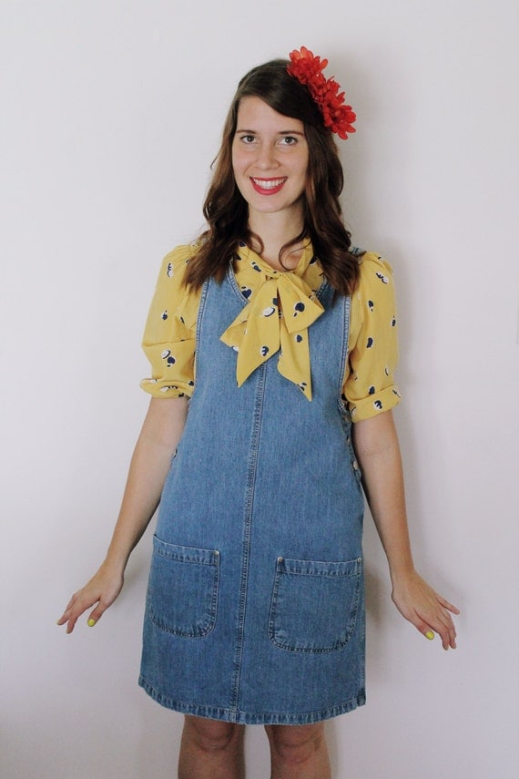 Vintage 1990's The Tea's Cooling Pinafore