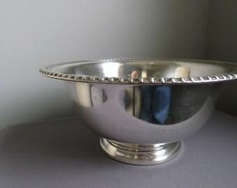 Wm Rogers silver bowl