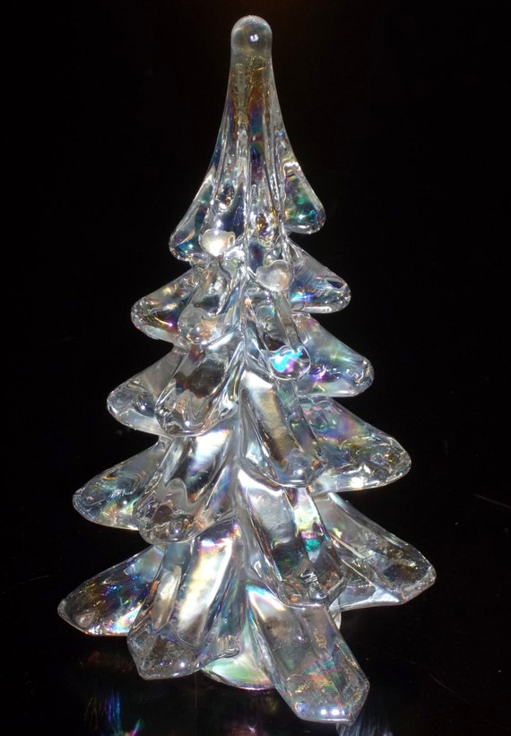 Vintage Glass Tree 18