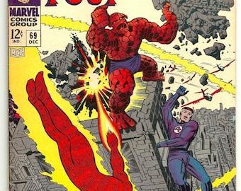 Fantastic Four No. 69 - Marvel Comic Book DEC 1967