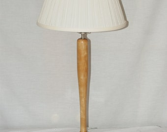 Hand Turned Baseball Bat Lamp
