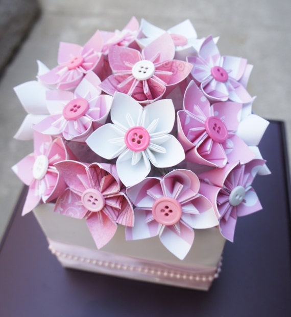 Baby Shower Centerpieces Baby Pink/Blue by PawsDesigns on Etsy