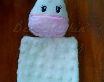 Unicorn ITH Softie with Blanket Embroidery Design INSTANT DOWNLOAD