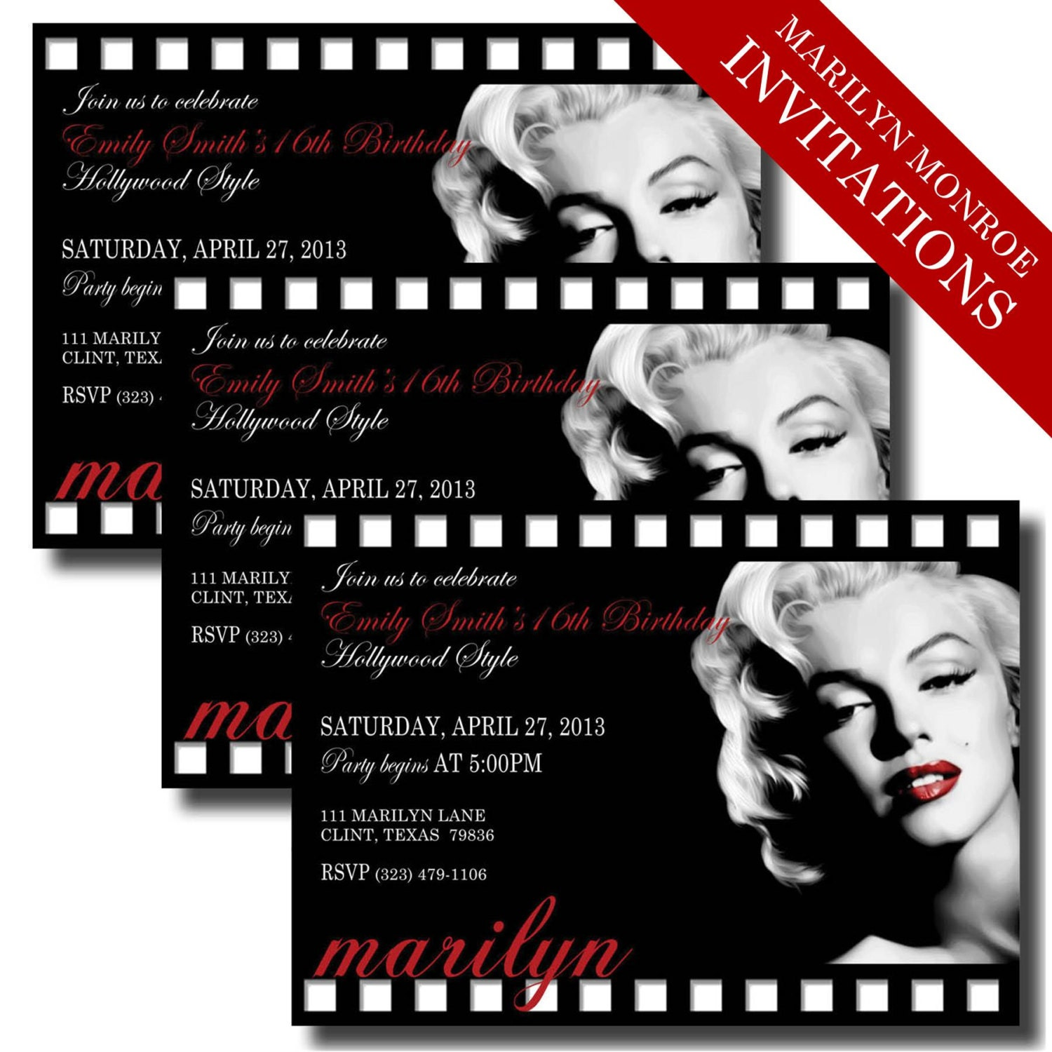 Free Movie Night Party Printables By Printabelle additionally 2015 Oscar Party Printable Invitation additionally 434386326530306691 besides Marilyn Monroe Invitations Printable in addition Wedding Anniversary Quotes In Spanish. on oscar party invite wording