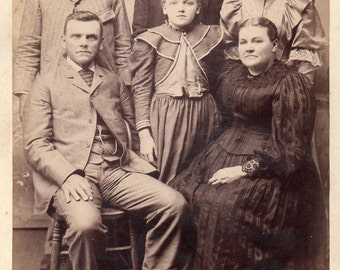 Antique Photo of Family