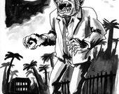 Well Dressed Werewolf in Rural Florida, cira 1957