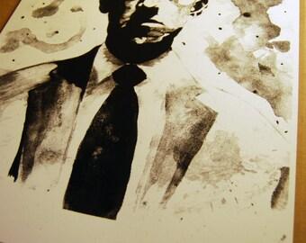 H. P. Lovecraft Portrait Screenprint