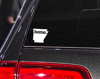 Arkansas Home. Decal Car or Laptop Sticker