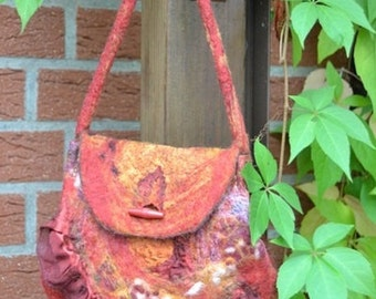 Small felted bag