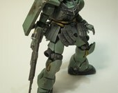 Finished Gundam Zaku Zulu