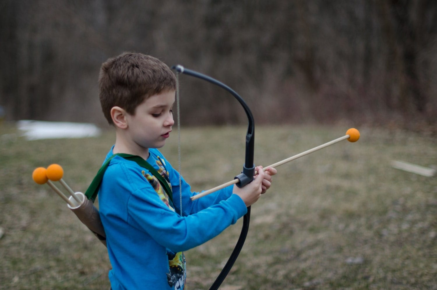 Pvc toy bow and arrow for Kids pvc bow