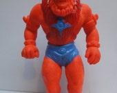 Vintage 1984 Panosh Place Masters of the Universe MOTU Beast Man Collectible Eraser Figure. Retro MOTU Hipster.