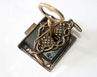 Skeleton key lock   Etsy