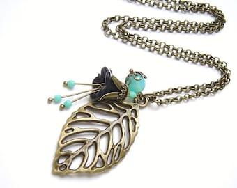 Necklace bronze