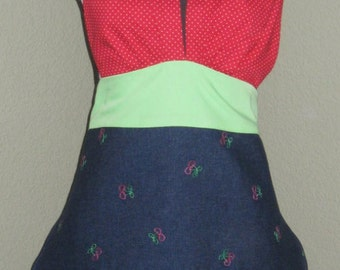 Bunches of Cherries Apron