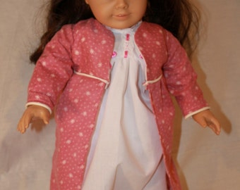 Victorian Doll Robe and Slippers  SP-03