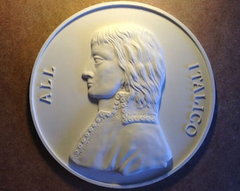Reproduction Italian Medallion,3d wall hanging