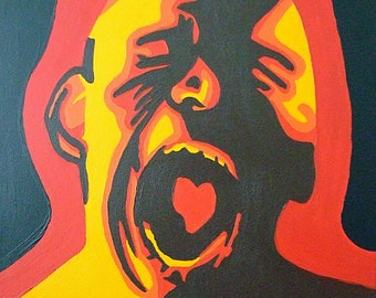 """Catharsis--16""""x20"""" Acrylic Painting"""