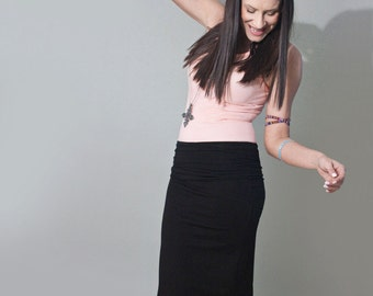 Pencil Skirt • Black Below the Knee Skirts • Tall & Petites • Loft 415 Clothing (No. 12)