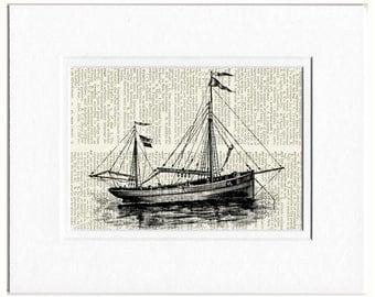Sail Boat III print