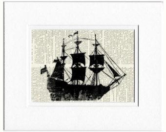 Ancient Ship print