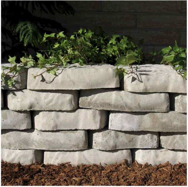 Concrete Molds Forms 2 Natural Retaining Wall Blocks By