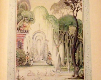 Fairy Tales Hans Andersen - Kay Nielsen - 1924 - Oversized - Tipped in illustrations - Very early edition