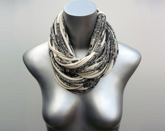 Cowl Scarf, Womens, Gift, Winter Accessories, Gift For Women, Print, Infinity, Girlfriend, Wife, Mom, Gift For Her, Best Friend