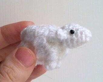 Spring Lamb - miniature sheep amigurumi sheep crochet sheep amigurumi lamb crochet lamb stuffed sheep plush sheep Easter lamb sheep ornament