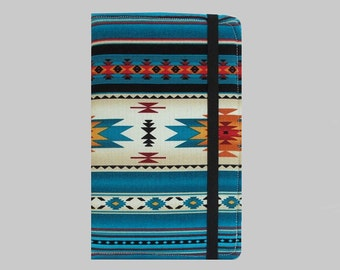 Kindle Cover Hardcover, Kindle Case, eReader, Kobo, Kindle Voyage, Kindle Fire HD 6 7, Kindle Paperwhite, Nook GlowLight Southwest Blue