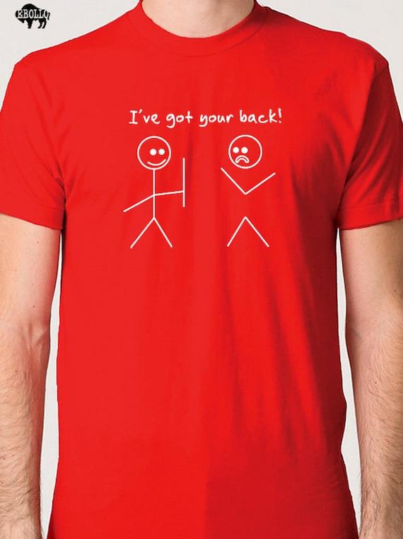 Husband Shirt Best Friend Gift I've Got Your Back T-shirt